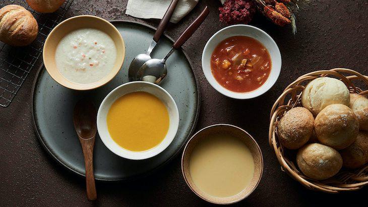 パンドに合わせたい無添加スープ4選!冷凍なのに美味しいパンとスープ!