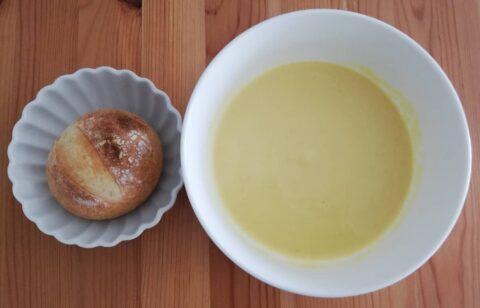Pan&スープの豆乳仕立ての北海道産とうもろこしポタージュ