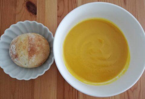 Pan&スープの濃厚かぼちゃのポタージュ