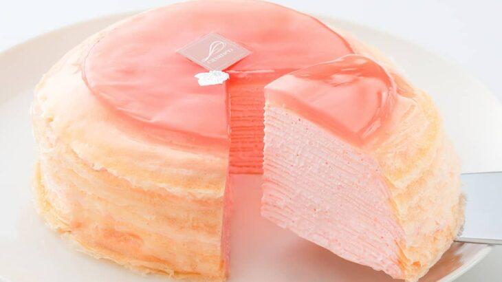 【夏限定】カサネオの桃ミルクレープがおいしい【3つの季節限定Ver】